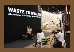 "Thailand International Furniture Fair 2011, ""Waste to Wealth"""
